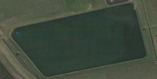 Stabilisation pond